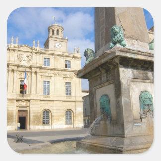 France, Arles, Provence, Place de la Sticker