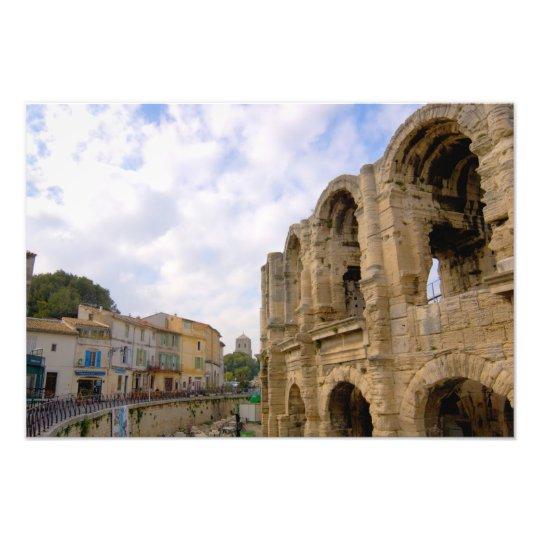 France, Arles, Provence, Roman amphitheatre Photo Print