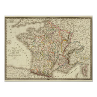 France at the time of 1789 poster