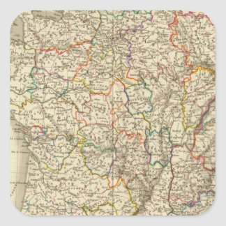 France at the time of 1789 square sticker