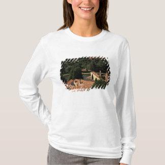 France, Avignon, Provence. Pont St, Benezet. T-Shirt