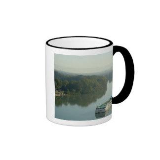 France, Avignon, Provence, Van Gogh riverboat Ringer Mug
