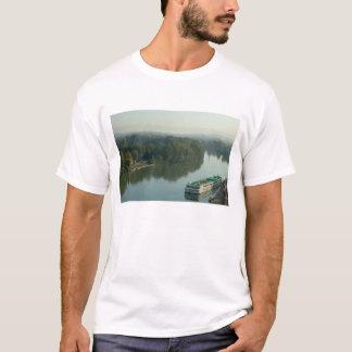 France, Avignon, Provence, Van Gogh riverboat T-Shirt