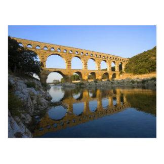 France, Avignon. The Pont du Gard Roman aqueduct Postcard