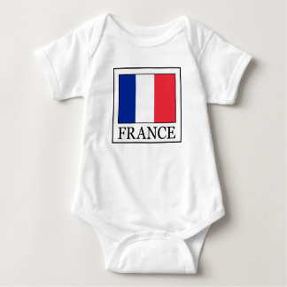 France Baby Bodysuit