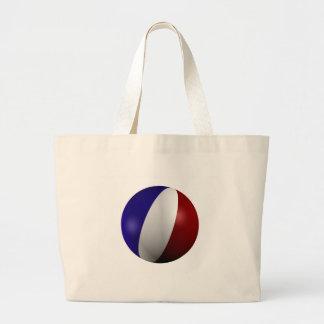 France Jumbo Tote Bag