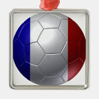 France ball metal ornament