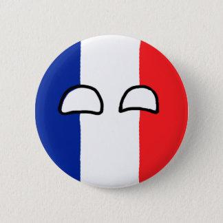 France Ball Pinback Button