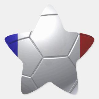 France ball star sticker