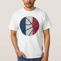 France Basketball T-shirt