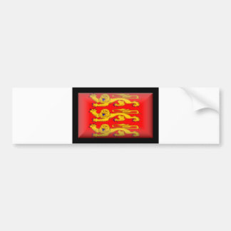France-Basse Normandie Flag Bumper Sticker