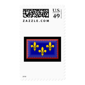 France-Berry Flag Stamps