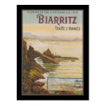 France Biarritz Post Cards