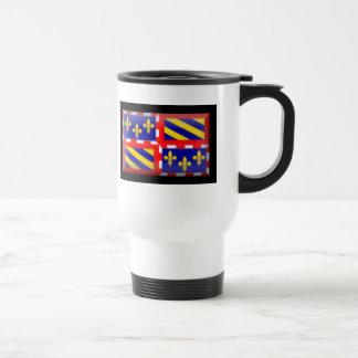 France-Bourgogne Flag Travel Mug