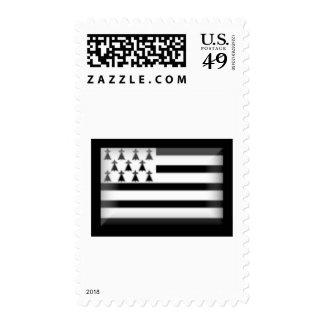 France-Britanny Flag Stamps