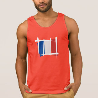 France Brush Flag Tank Top