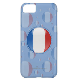 France Bubble Flag iPhone 5C Cover