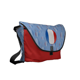 France Bubble Flag Messenger Bag