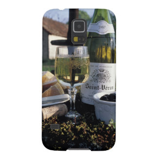 France, Burgundy, Chablis. Local wine and Galaxy S5 Case