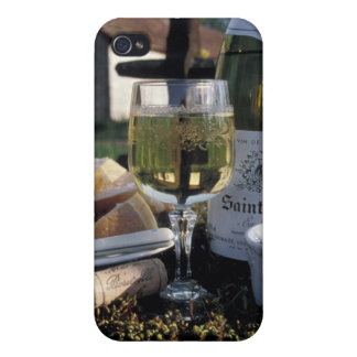 France, Burgundy, Chablis. Local wine and iPhone 4/4S Covers
