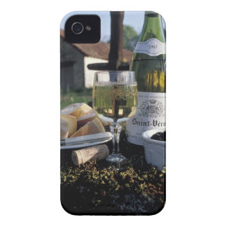 France, Burgundy, Chablis. Local wine and iPhone 4 Cover