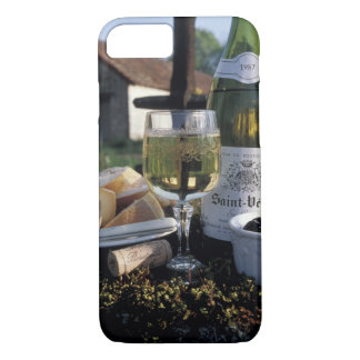 France, Burgundy, Chablis. Local wine and iPhone 7 Case