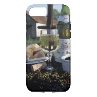France, Burgundy, Chablis. Local wine and iPhone 8/7 Case