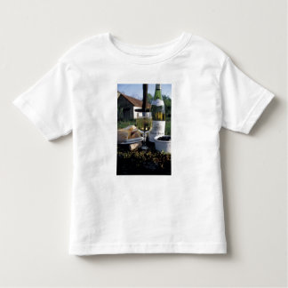 France, Burgundy, Chablis. Local wine and Toddler T-shirt