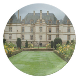 France, Burgundy, Cormatin, Chateau de Cormatin, Party Plates