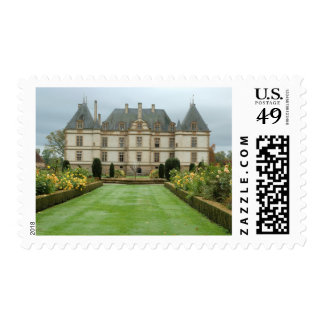 France, Burgundy, Cormatin, Chateau de Cormatin, Postage