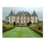 France, Burgundy, Cormatin, Chateau de Cormatin, Post Card