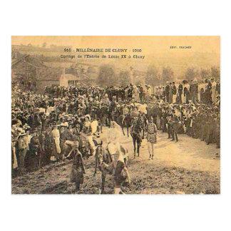France, Burgundy, Millenaire de Cluny, 1910 Postcard