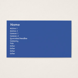 France - Business Business Card