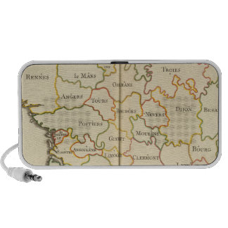 France  Capitals Notebook Speaker