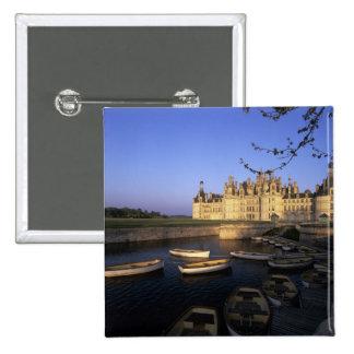 France, Centre, Loir et Cher, Chateau Chambord Pinback Buttons