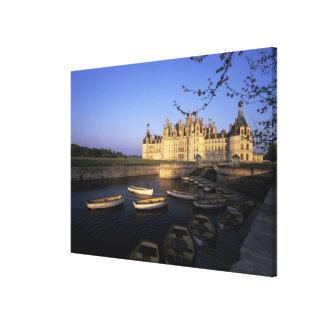 France, Centre, Loir et Cher, Chateau Chambord Gallery Wrap Canvas