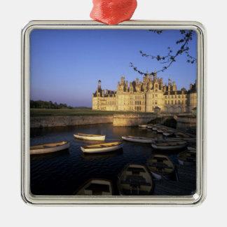 France, Centre, Loir et Cher, Chateau Chambord Metal Ornament