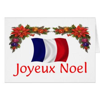 France Christmas Card