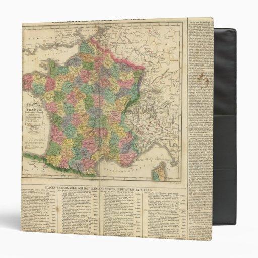 France Chronology Map Binder