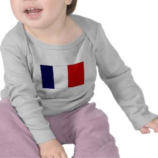 France Civil and Naval Ensign Tshirts