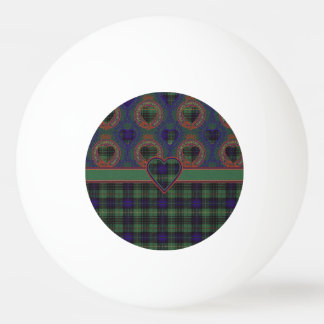 France clan Plaid Scottish kilt tartan Ping Pong Ball