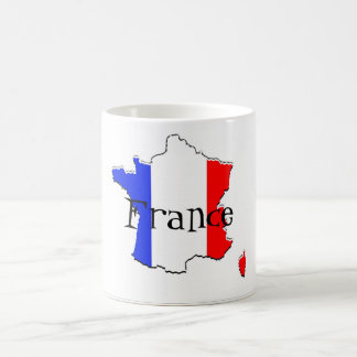 France Classic White Coffee Mug