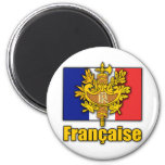 France Coat of Arms 2 Inch Round Magnet