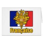 France Coat of Arms Card