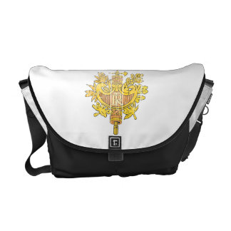 France Coat Of Arms Courier Bag