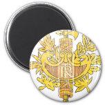 France Coat Of Arms Fridge Magnet