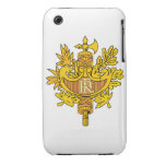 France Coat of Arms iPhone 3 Cover