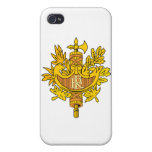 France Coat of Arms iPhone 4 Cases