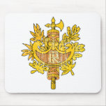 France Coat Of Arms Mouse Pads