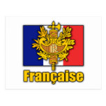 France Coat of Arms Postcard
